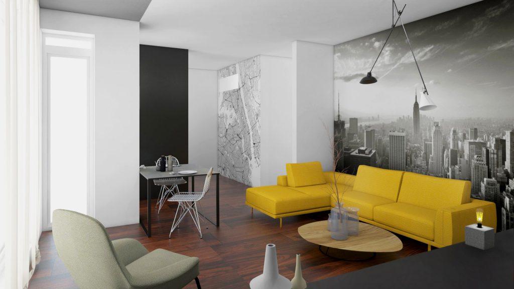 Re-design bytu pro mladého muže